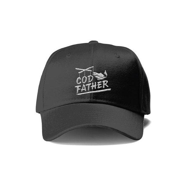 Capt Sig COD FATHER Caps, antrasitt
