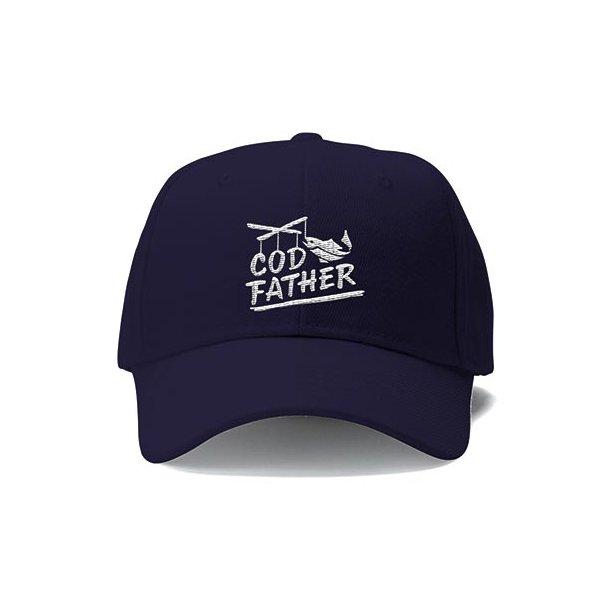 Capt Sig COD FATHER Caps, marineblå