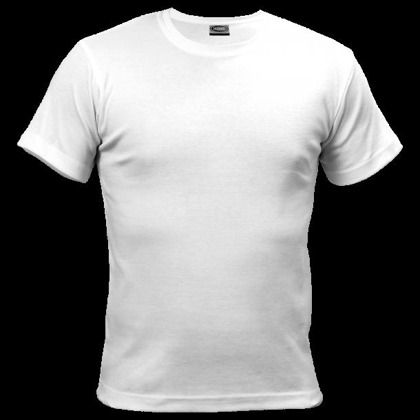 hvit t skjorte
