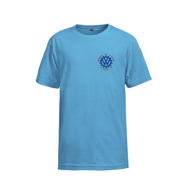VVW T-skjorte Barn, Blå