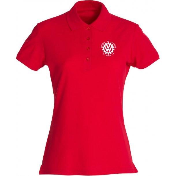 VVW T skjorte, dame med V hals
