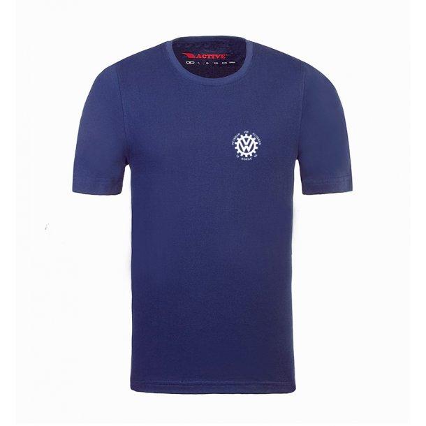 T-skjorte, marine blå